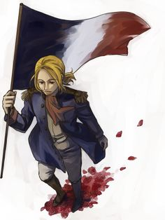 Francis during the French Revolution - Art by まめ子
