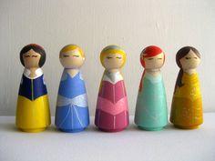 Large Princess Dolls / Toy / Decoration / 3.5 by BeanstalkLoft