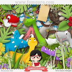 Kit - Dinolandia by Fa Maura