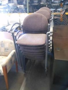 Just came in and are ready to go, these chairs would be great for anywhere you need them. $35ea