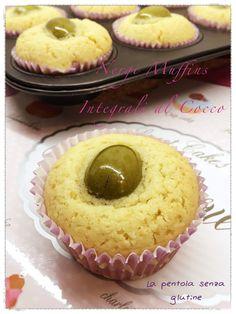 La pentola senza glutine: Nergi Muffins Integrali al Cocco
