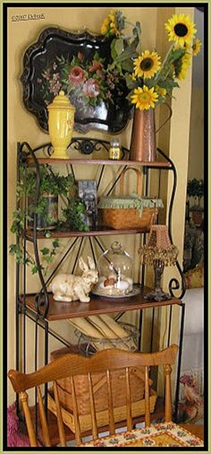 About ideas for decorating bakers rack on pinterest bakers rack