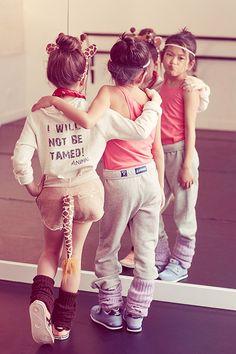 LOVE it! I will not be tamed #kids #fashion OMG future giraffe daughter...at a dance studio!!