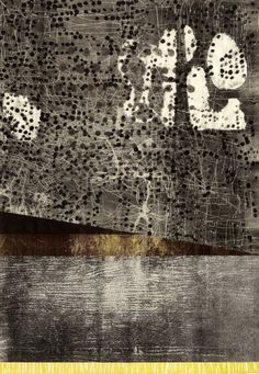 Joyce Silverstone 2016 relief, carborundum collagraph, and collage Collagraph, Max Ernst, Knife Art, Fish Ponds, Night City, Printmaking, Art Prints, Abstract, Drawings