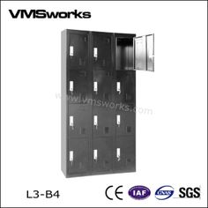 China Office FurnitureFiling CabinetCheap Vintage Metal 12 Door Closet Gym Lockers For