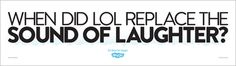 Skype - When did LOL replace the sound of laughter ?