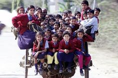 The 10 Life Threatening Journeys Made By Kids to Go to School - Top 10 Everythings