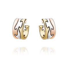 Georg Jensen Earrings Fushion 3 Colour | C W Sellors Fine Jewellery and Luxury Watches