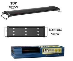 Led Double Bright Strip Light 18 – 24″: Aquarium Heaters & Lights, Gifts for Fish Lovers