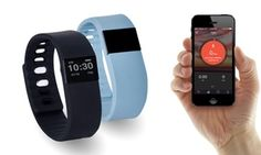 Groupon - $ 29 Bluetooth Fitness Activity Bracelet in a Choice of Colours. Groupon deal price: $29