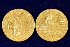 $2.50 1914-D AU/BU Gold Indian Head