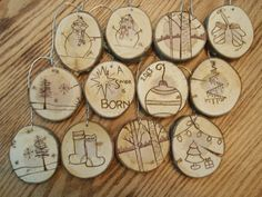 Our First Christmas Christmas Ornaments Personalized by DnSWood
