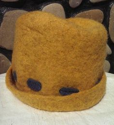 Felt Wool Winter Cloche