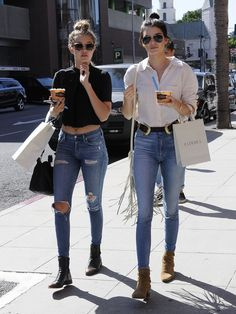 msfts-style: Kendall and Gigi out and about in Beverly Hills 31.7.15