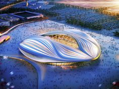 From apertures to geodesic domes, stadium designers are raising the roof, and…