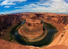 Horseshoe Bend, on the Colorado River in Arizona, is installing parking and railings after it blew up on Instagram.