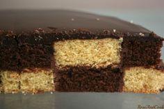 Le damier sans moule sans spécial, recette du gâteau au chocolat et du gâteau vanille