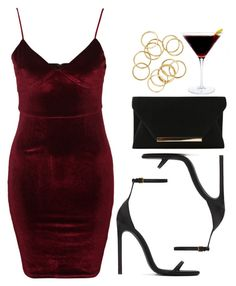 """""""Style #11710"""" by vany-alvarado ❤ liked on Polyvore featuring Glamorous and Yves Saint Laurent"""