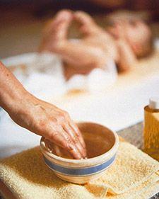 Baby Massage: Lower Body and Belly Massage - Martha Stewart Home & Garden