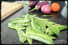 Madhu's Cooking And Craft: Avarakkai Poriyal/ Broad Bean Stir Fry