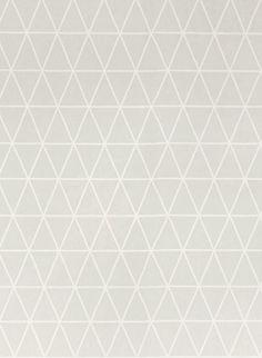 Dreieck Tapete Viggo von Majvillan - Soft Grey