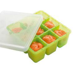 Freshfoods Freezer Tray + Annabel Karmel's baby puree cookbook.