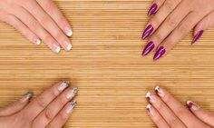 We& assembled some of the finest nail art designs. Be sure to check them all out. The post We& assembled some of the finest nail art designs. Be sure to check them all o& appeared first on Nail Design. Types Of Nails Shapes, Different Types Of Nails, Nail Care Tips, Nail Tips, Healthy Nails, Beautiful Nail Designs, Perfect Nails, Blue Nails, Simple Nails
