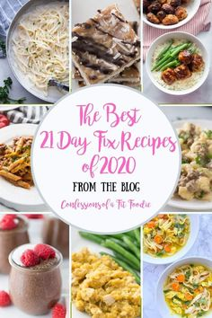 The Best 21 Day Fix Recipes 2020 - Confessions of a Fit Foodie 21 Day Fix Diet, 21 Day Fix Meal Plan, Diet Recipes, Healthy Recipes, Fixate Recipes, Shake Recipes, Healthy Dinners, Healthy Alfredo Recipe