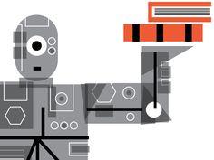 Robot Librarian by timgough