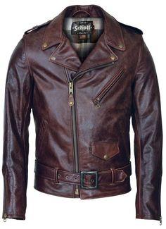 Schott 626 Cowhide Motorcycle Jacket