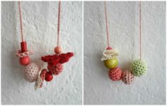 Little Miss Collection - #crochet necklaces - from Little Treasures