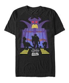 8ef779d3c Black Toy Story Zurg s Wrath Tee - Men s Regular Toy Story