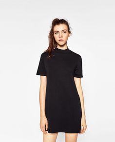 Image 2 de ROBE À COL MONTANT de Zara Zara Women, Striped Dress, High Neck Dress, Shirt Dress, Collection, Bristol, Shirts, Clothes, Woman