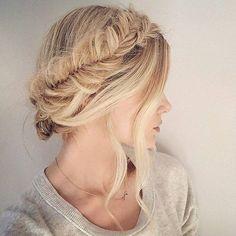 Milkmaid Braids Hairstyles from Runway   Trendy Hairstyles 2015 / 2016 for long, medium and short hair