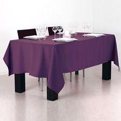 Nappe anti-tâches - 140 x 240 cm. - Violet ATMOSPHERA - Nappe