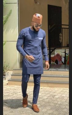 African Wear Styles For Men, African Shirts For Men, African Dresses Men, African Attire For Men, African Clothing For Men, African Style, African Women, Nigerian Men Fashion, Mens Fashion