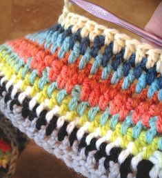 and now crochet - Pam Garrison Love these colors