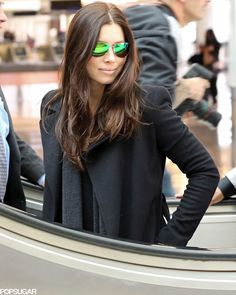 Jessica Biel went incognito at LAX on Wednesday.