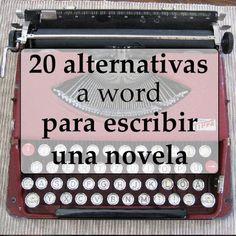 Procesadores de texto para escribir una novela