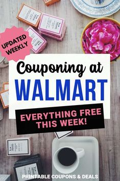 Free at Walmart this Week! - Printable Coupons and Deals Digital Coupons, Printable Coupons, Breakfast Bars, Free Breakfast, Walmart Sales, Baby Bar, Sunday Paper, Coffee Shot, Store Coupons