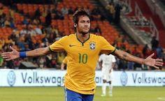Neymar o jogador de fultebol do Brasil .