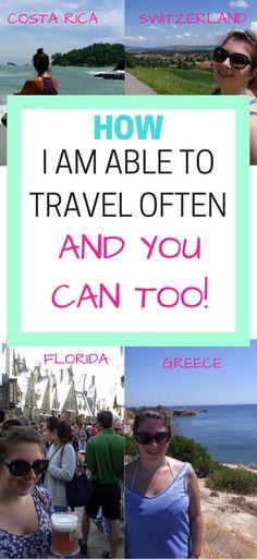 Great tips to travel better, longer, cheaper.