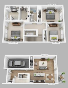 Small Bedroom Remodel Sinks and Master Bedroom Remodel Fixer Upper. Sims House Plans, House Layout Plans, Modern House Plans, House Layouts, Small House Plans, House Floor Plans, Sims House Design, Modern House Design, Bedroom House Plans