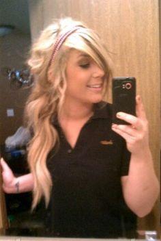 Chelsea Houska hair<3