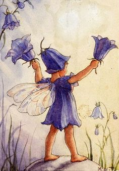 The Bluebell Fairy by Margaret Tarrant