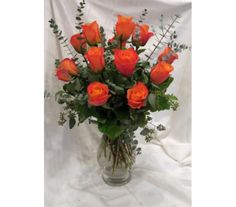 Vibrant Orange Rose Bouquet in Princeton, Plainsboro, & Trenton NJ, Monday Morning Flower and Balloon Co. Orange Rose Bouquet, Orange Roses, Rose Flower Arrangements, Rose Delivery, Morning Flowers, Love Rose, Having A Crush, All The Colors, Favorite Color