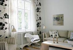 modern rustic living room. Clean natural simple easy diy or update