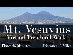 Mt. Vesuvius Virtual Treadmill Walk - YouTube Home Learning, Learning Activities, Fitness Activities, Virtual Travel, Virtual Tour, Walking Videos, 6th Grade Social Studies, Virtual Field Trips, Walking Tour