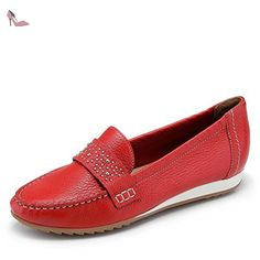 Caprice  99 24657 24 500, Mocassins pour femme - rouge - Rot, 38 EU - Chaussures caprice (*Partner-Link)