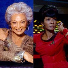 Nichelle Nichols who played as Communications Officer Uhura in TOS